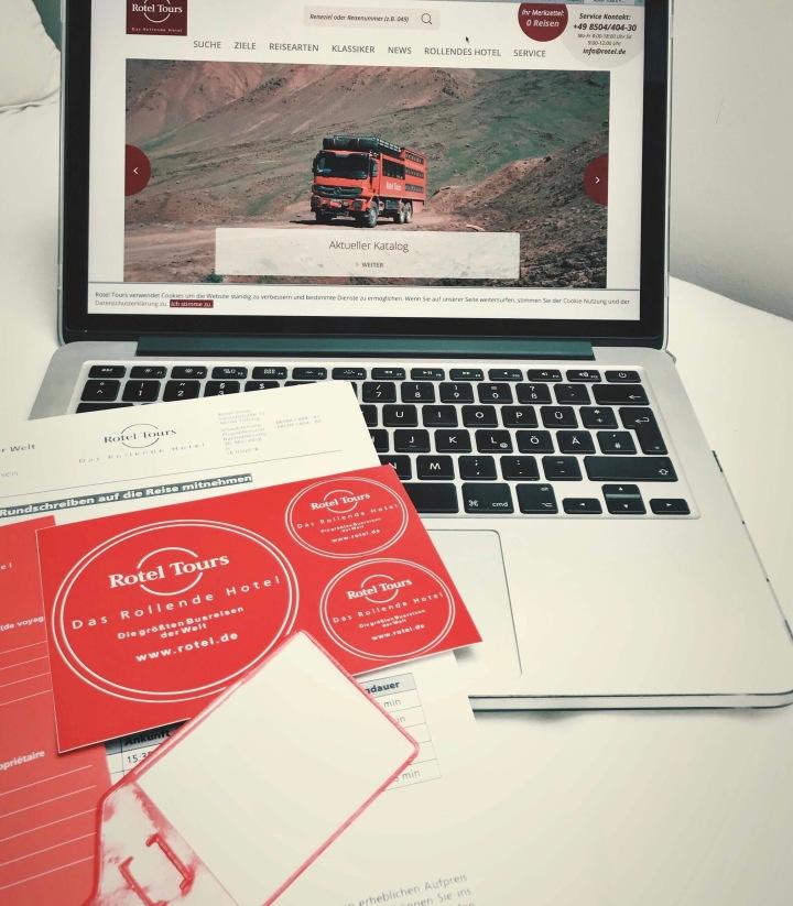 Rotel Tours Unterlagen